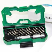 LAOA 25 in 1 Precise Precision Screwdriver Set Tools Kit Hand tools Repair for Laptop Mobile phone Iphone Cell Phones LA613130