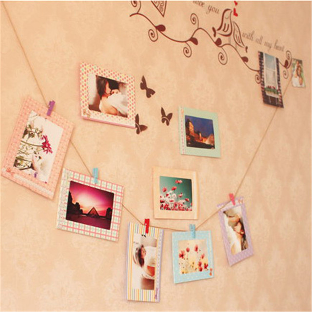 Home Warm Family Personalized Photo Wall Diy Hanging Photo Picture