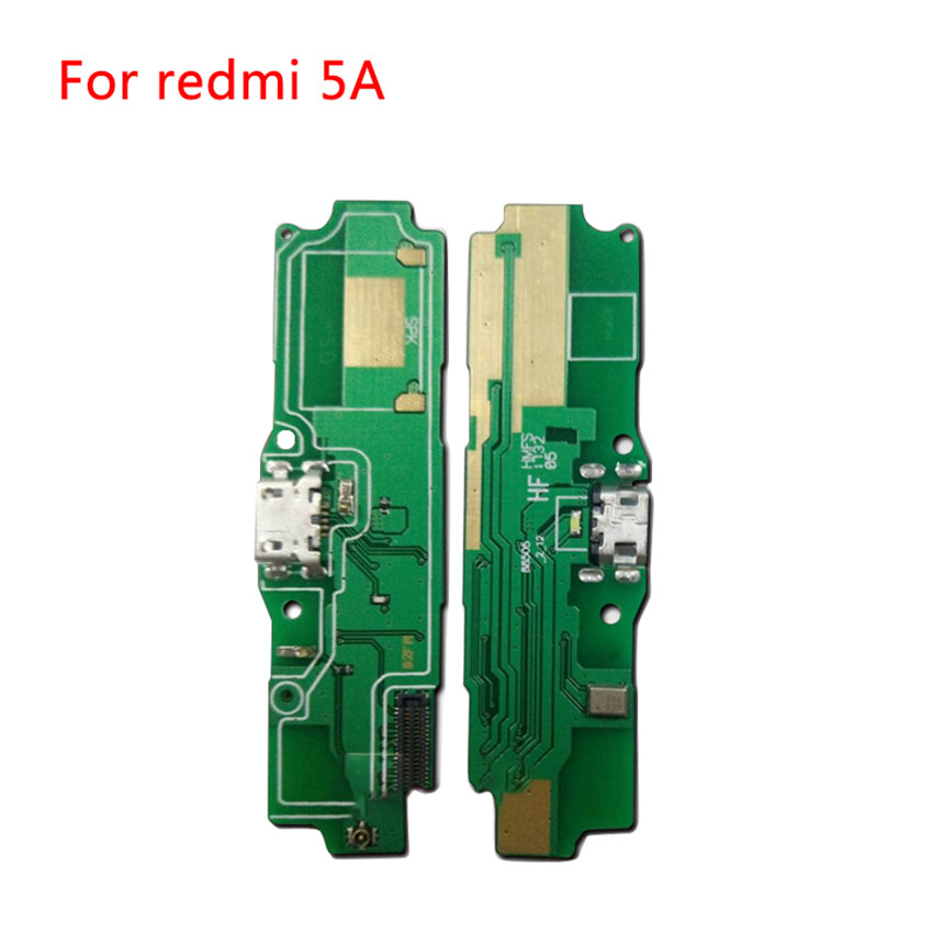 USB Charging Port Charger Board Flex Cable For Xiaomi Redmi 5A Dock Plug Connector With Microphone Flex Cable