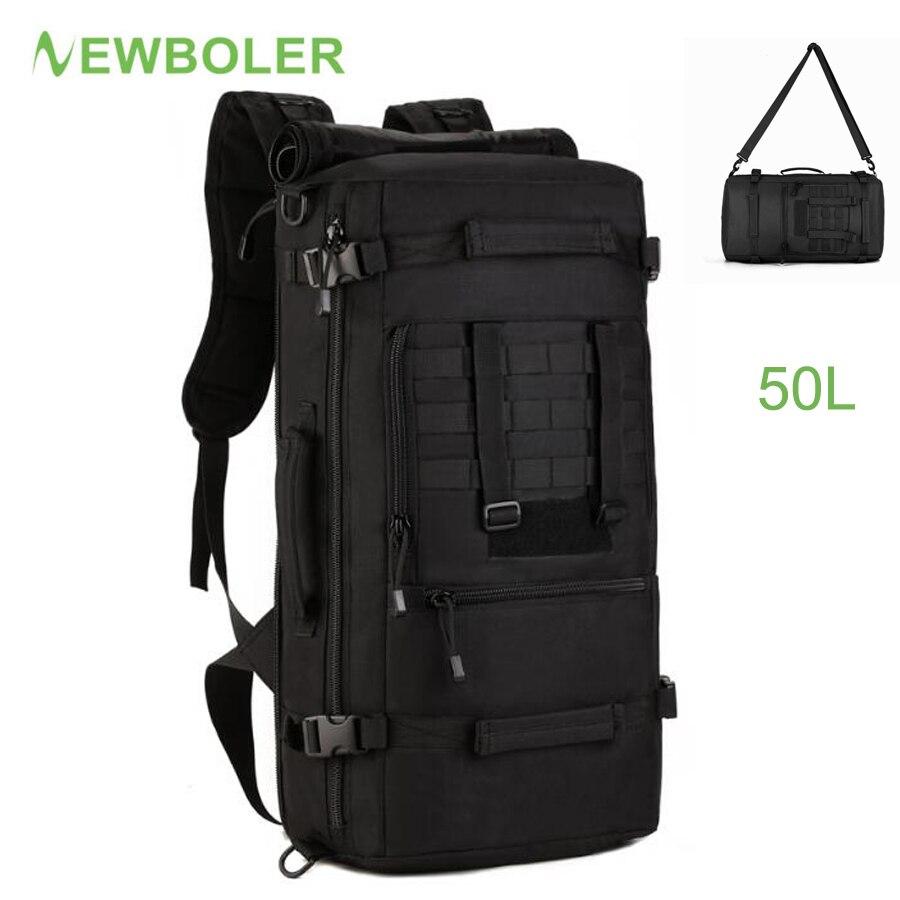 Black Large Fly Fishing Bagpack Waterproof Tackle Big Bag Oxford Multifunctional Box Army Tactical Camping Men
