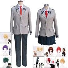 Anime my Hero Academia Uniforms Carnival Ballet Cosplay My Academy Costume Izuku Midoriya Wig
