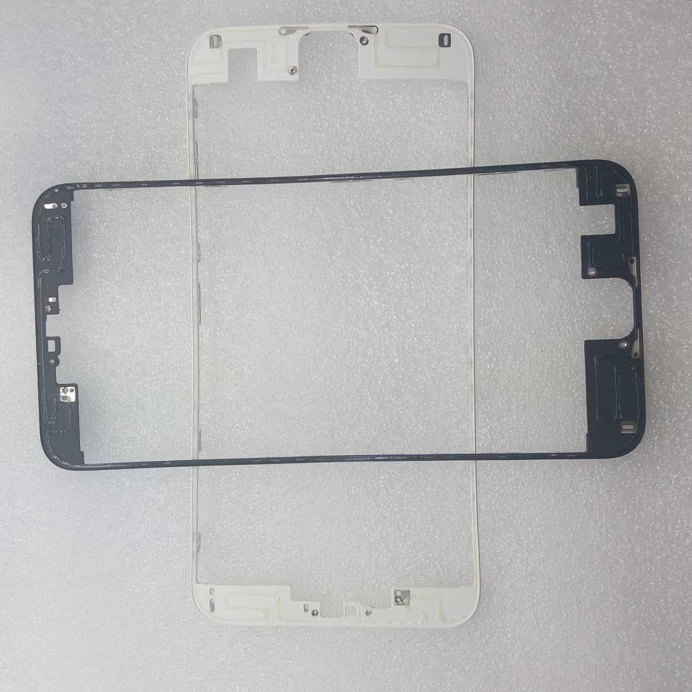 2 قطعة الإطار الأمامي مع الغراء الساخن ل فون 4 5 6 6 s 7 زائد LCD الإطار الأوسط الإسكان أجزاء شاشة حامل استبدال جزء