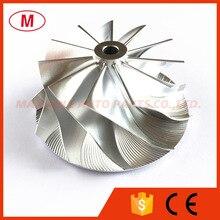 RHF5 высокая производительность турбо алюминий /Фрезерование/заготовка компрессора колеса 49,60/62,00 мм 11+ 0 лезвия