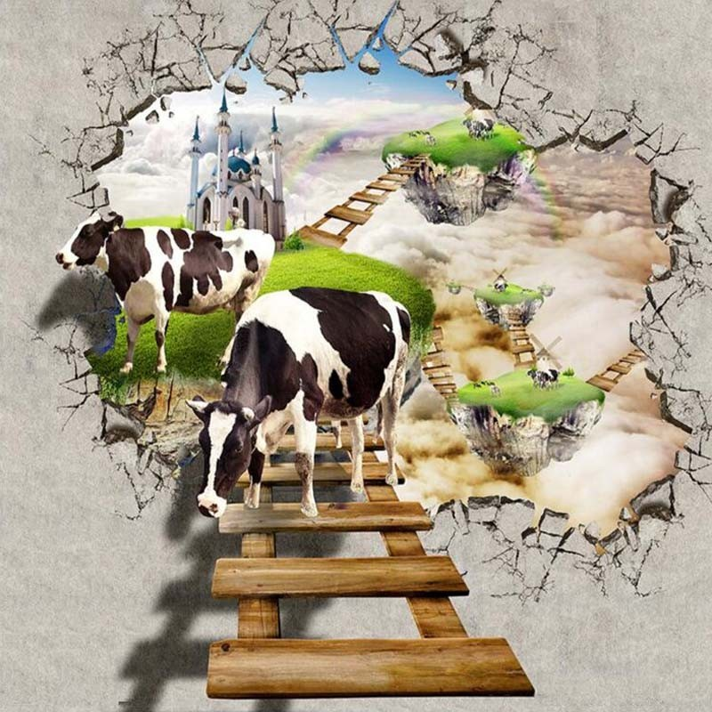 Custom-Photo-Wall-Paper-3D-Wall-Decorations-Living-Room-Bedroom-TV-Background-Wall-Murals-Wallpaper-Cows (3)