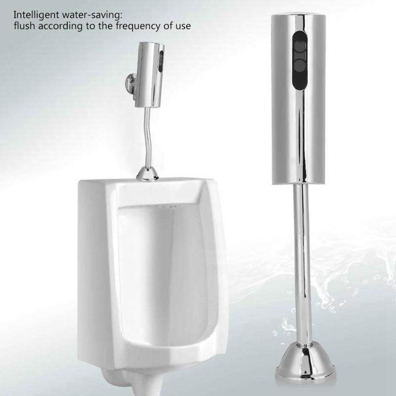 Toilets & Toilet Parts Urine Infrared Sensor Urinal Automatic Stool Flush Valve Copper Valve Hotel Bathroom Perfect In Workmanship