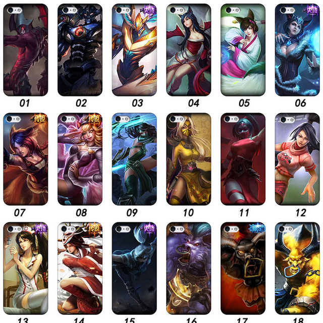 hot sale online 81128 c5f50 US $13.8 |4 4S Hard Plastic Cases On Phone 3D Painting HD UltraThin Cover  For Iphone 4 4S LOL League of Legends Mobile Covers on Aliexpress.com | ...