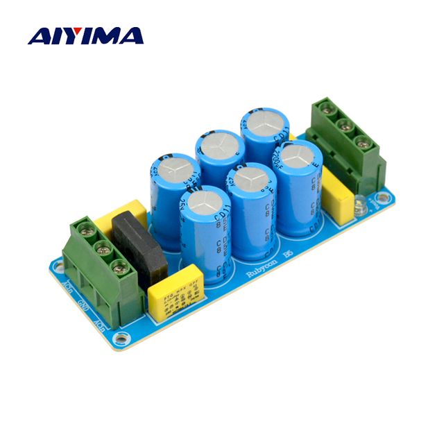 US $8 51 19% OFF|Aliexpress com : Buy AIYIMA Amplifier Rectifier Filter  Power Board DIY Audio Rectifier Power Supply Finished Board from Reliable