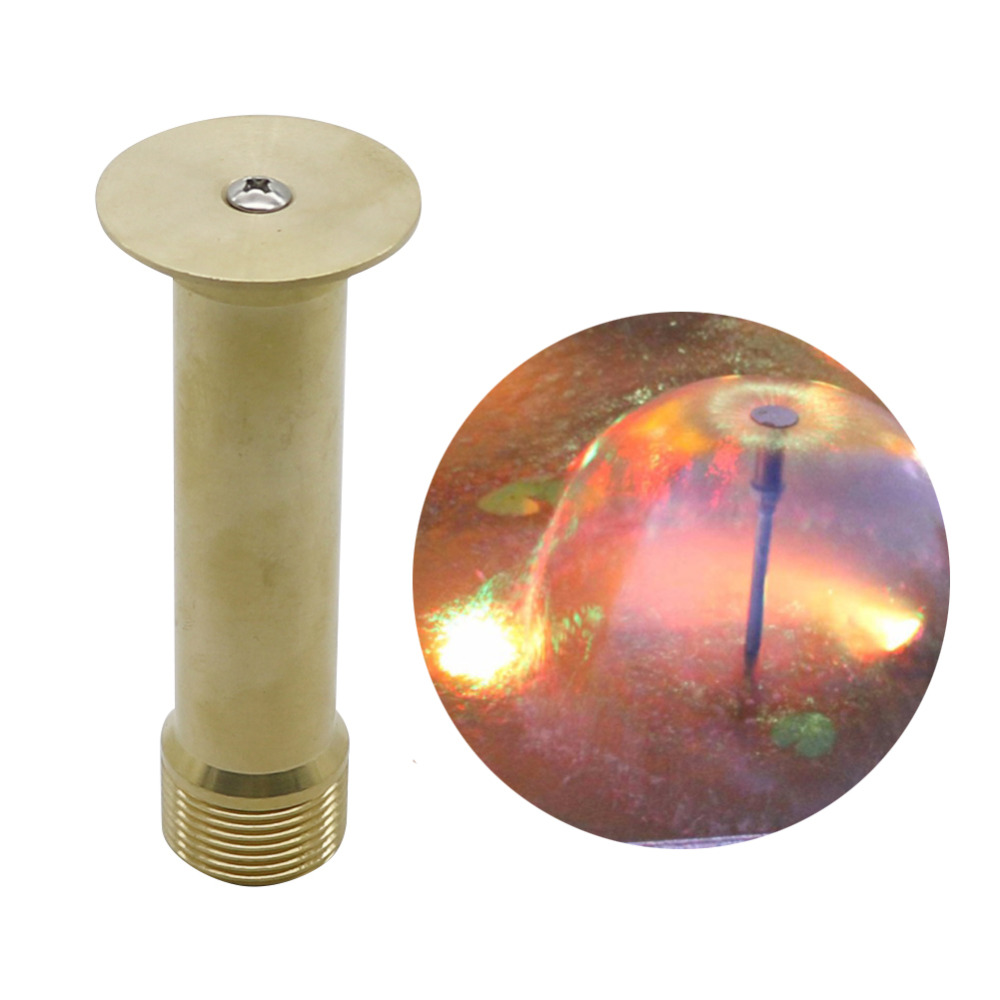 Copper Mushroom Hemisphere Nozzle 1/2