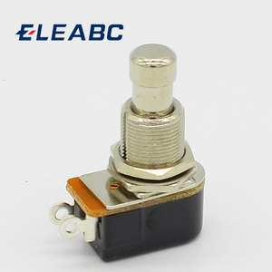 SPST Momentary Soft Touch Push Button Stomp Foot pedal switch Electric Guitar Switch OFF-Momentary ON