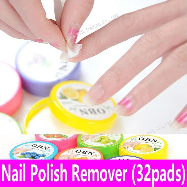 32pcs Nail Polish Remover Fruit Scented Flavor Wraps Paper Cloth Towel Wet Wipes Nail Art Vanish Removal Nonwoven 32 Pads Jar Nail Polish Remover Polish Removerwipes Nail Aliexpress
