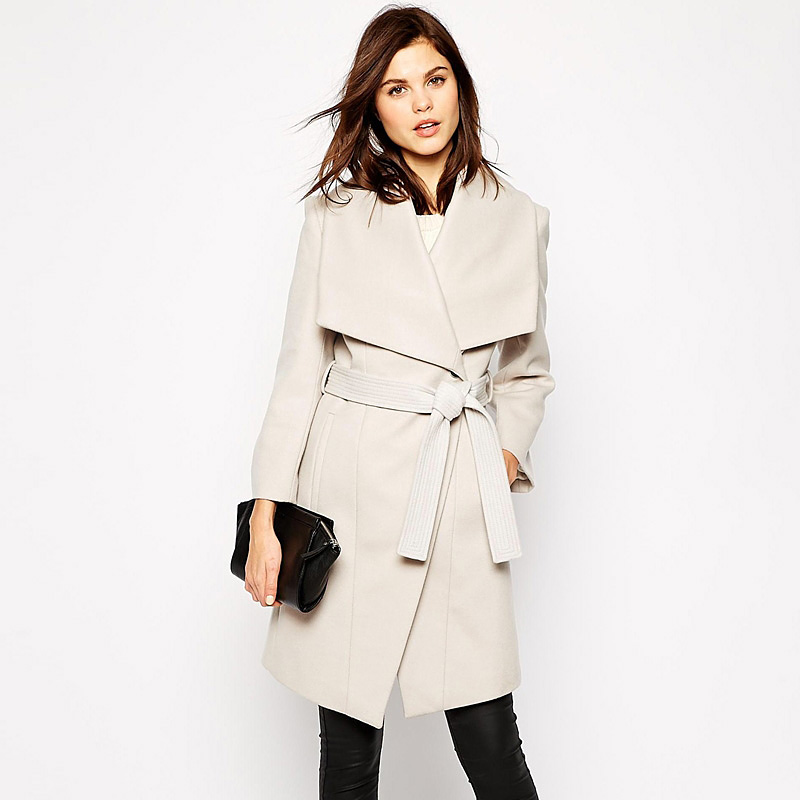Popular Beige Wool Coat-Buy Cheap Beige Wool Coat lots from China ...