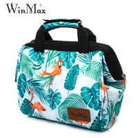 Winmax Waterproof Cooler handbag Thermal & Insulated Ice Pack Thicken Folding Beer Food Cold keep Bag Box for Men Women Picnic