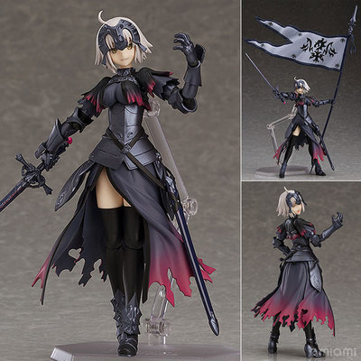 Anime Fate Grand Order Avenger Jeanne d'Arc Alter 390 Cute Figma Action Figures Doll Collection Model Toys s