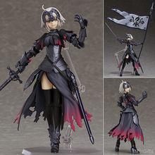 Anime destino grande pedido vingador jeanne darc arc alter figma 390 bonito figuras de ação pvc boneca coleção modelo brinquedos presentes