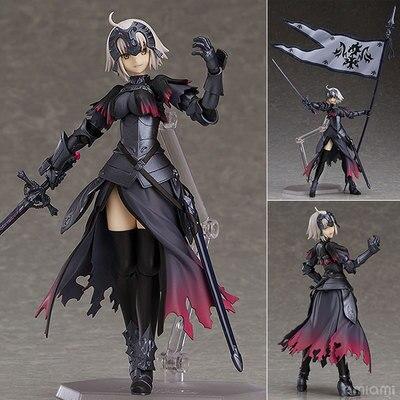 Anime destin Grand ordre vengeur Jeanne d'Arc Alter Figma 390 mignon figurines d'action PVC poupée Collection modèle jouets cadeaux