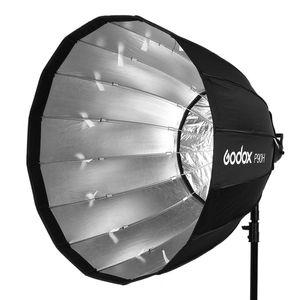 Image 2 - Godox przenośny P90h 90CM głębokie paraboliczne Softbox Bowens zamontować błyskanie studyjne Speedlite reflektor Photo studio Softbox