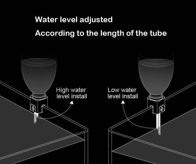 Мини нано повесить на авто наполнитель бутылок заправка сверху от системы аквариума ATO sytem контроллер уровня воды морской риф резервуар для кораллов