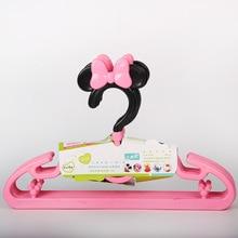 Sweet Cartoon Hangers Plastic kleerhanger voor babykleding Garderobe-opslag Kinder kleerhanger