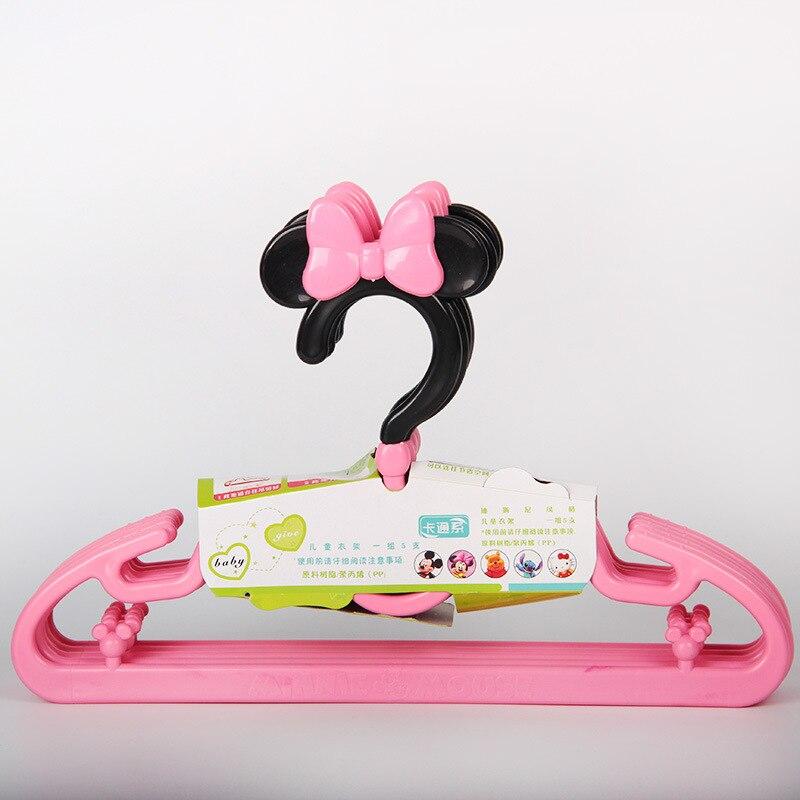 Sweet Cartoon Hangers Plastic kleerhanger voor babykleding - Home opslag en organisatie