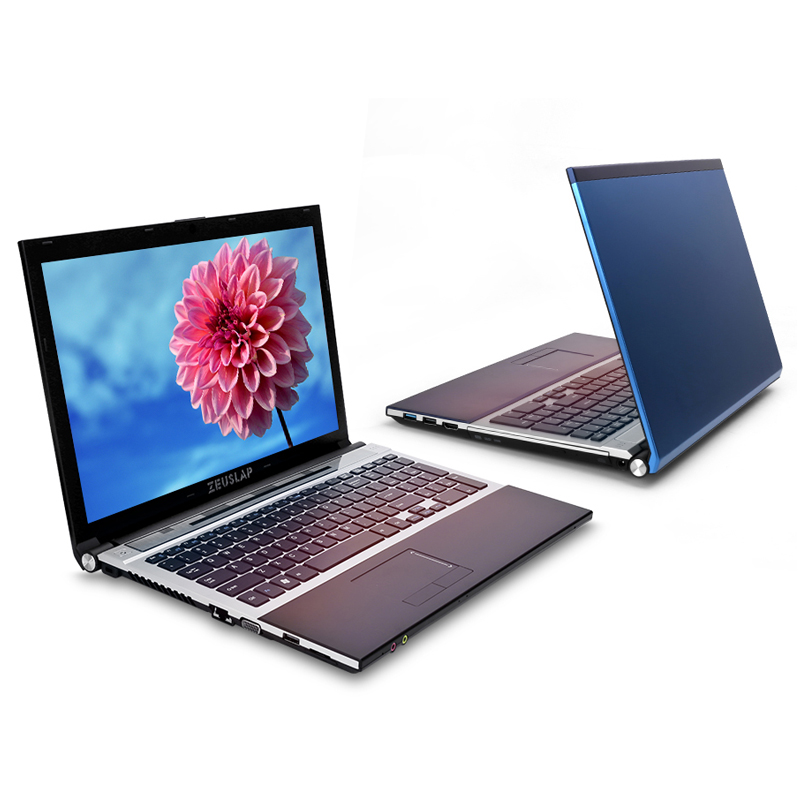 15.6inch Intel I7 8GB RAM 256GB SSD 500GB HDD 1920x1080P DVD Rom WIFI Bluetooth Windows 10 Laptop Notebook PC Computer
