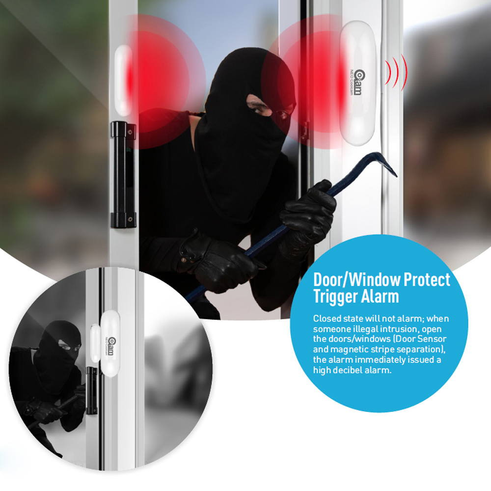 Image 4 - NEO COOLCAM NAS DS01Z ZWAVE Sensor Door/Window Sensor Compatible System with Z wave 300 series and 500 series Home Automation-in Sensor & Detector from Security & Protection