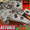 DHL LEPIN 05033 Star Millennium Falcon Building Blocks Model Kit Military Wars Bricks Compatible 10179 Toy