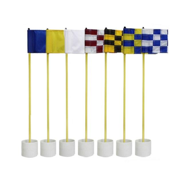 Genial CRESTGOLF 1set Per Pack Backyard Golf Practice Set Golf Hole Pole Cup Flag  Stick Putting Green