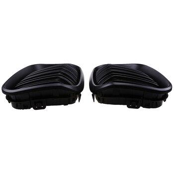 POSSBAY Matte สีดำเส้นคู่ Grille ด้านหน้ากันชนสำหรับ BMW 1-Series F21 120i/125d/125i /116i 3 ประตู 2015-2017 Facelift