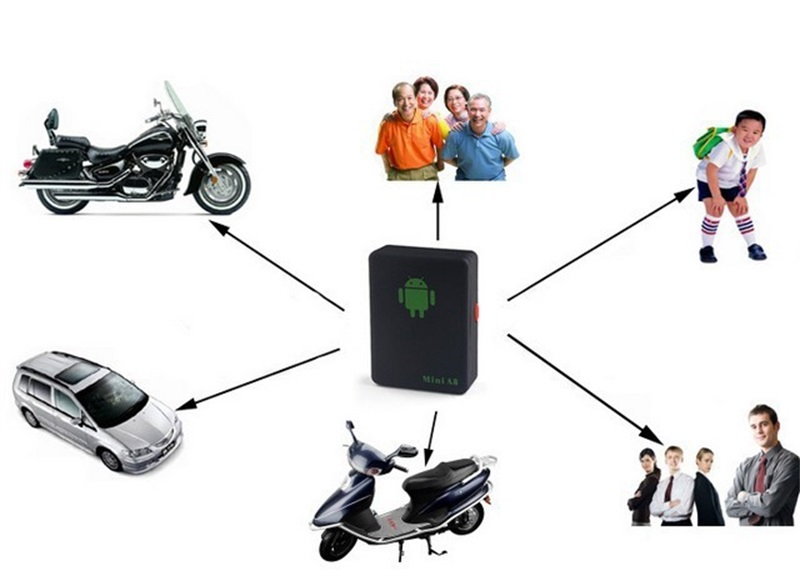 High Quality Protable Mini A8 GPRS Car KiTs GSM/GPRS Tracker GPRS Mini GSM LBS T