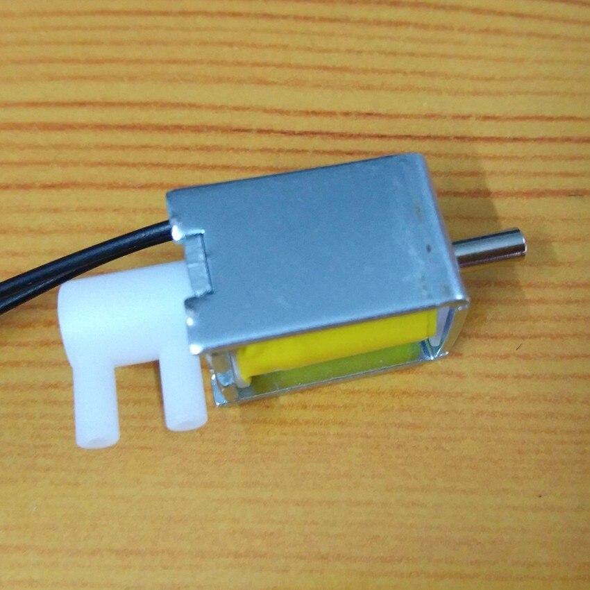 Elektrische 4,5 V 6 V 24 V Mini kleine Magnetventil Luft Gas Release 2 Posi 2