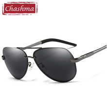 8dff22709e Chashma Brand Large Frame Sport Sunglasses Male Oversize Anti Glare  Reflective UV 400
