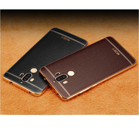 2PCS Plating For Huawei Mate 9 Mate9 Kirin960 Cellphone Back Cover Case Soft TPU Clear Protective