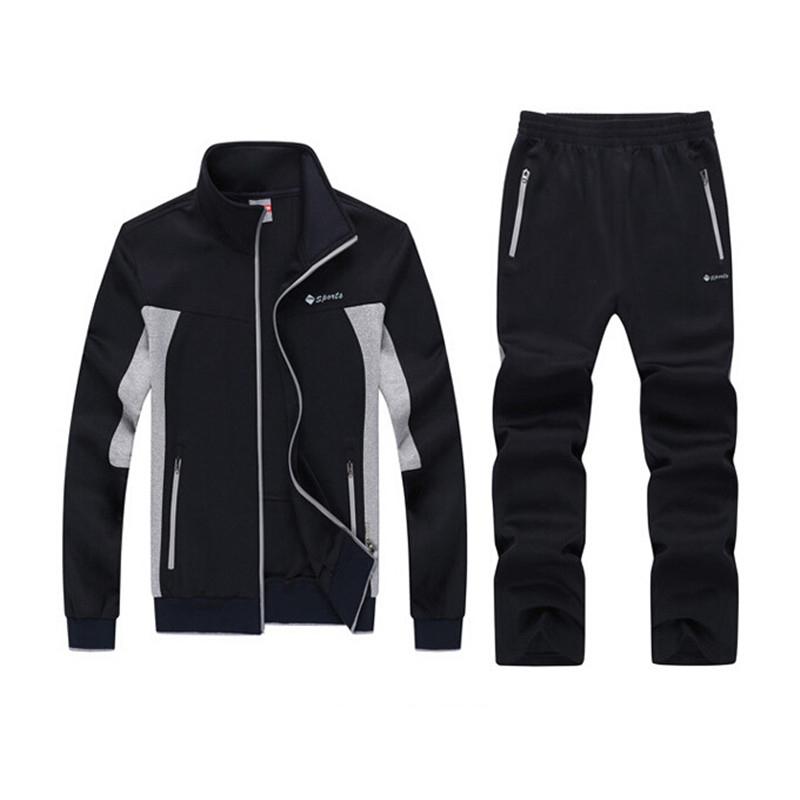 Compre 2017 Plus Size 4xl 5xl 6xl Sportswear Homens Lazer Esportivos ... 52d7dfeff92b3