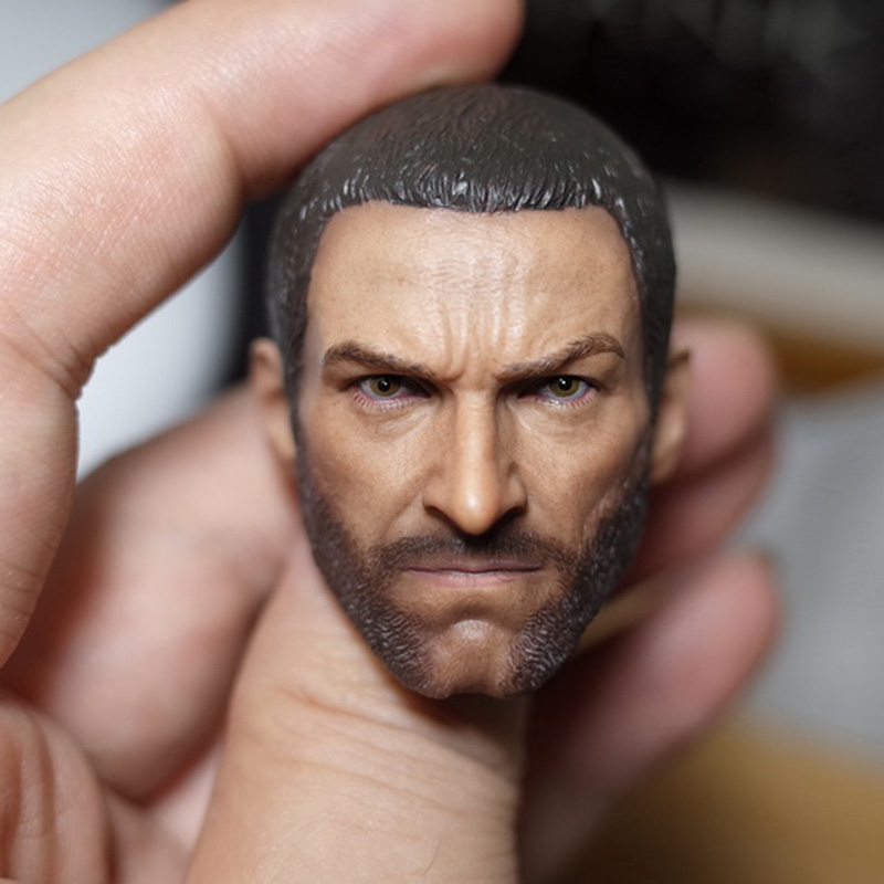 1/6 Logan 3 Wolverine Clone Head Sculpt Short Hair Version For 12 inches Action Figure Accessory 1 6 scale wolverine 3 hugh logan head sculpt clone version with short hair for 12 inches male bodies dolls figures gifts toy