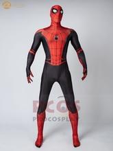3Dพิมพ์Spiderคอสเพลย์เครื่องแต่งกายPeter Parker Spider Far From Homeชุดคอสเพลย์สำหรับMan Mp004588