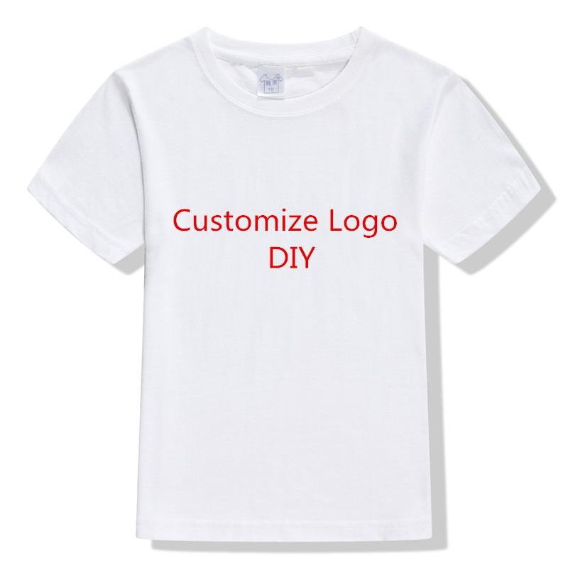 Diy logo printing children t shirt jersey short sleeve for Diy tee shirt printing
