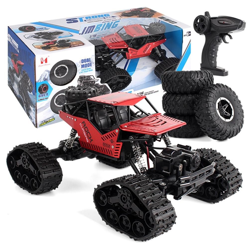 Image 4 - 1/16 Four wheel Drive Alloy Track Off road Remote Controll Climbing Car LH C012-in RC Cars from Toys & Hobbies