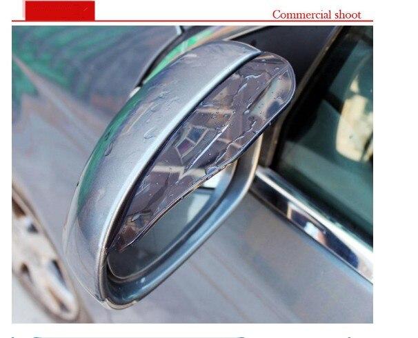2pcs PVC Car rain eyebrow Cover Accessories for Jaguar XF XJ XJS XK S-TYPE X-TYPE XJ8 XJL XJ6 XKR XK8 X320 X308 Auto Accessories