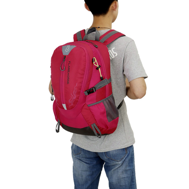 Men Women Hiking Backpack Waterproof Travel Bag Rucksack