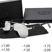 Occhiali Da Vista da uomo Occhiali Da Sole Progressive di Correzione Ottica di Prescrizione di occhiali da sole di Miopia Ipermetropia Astigmatismo