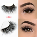 Arison Lashes Beauty mink eyelashes 3D MINK False Eyelashes Messy Cross Dramatic Fake Eye Lashes Professional Makeup Lashes D004
