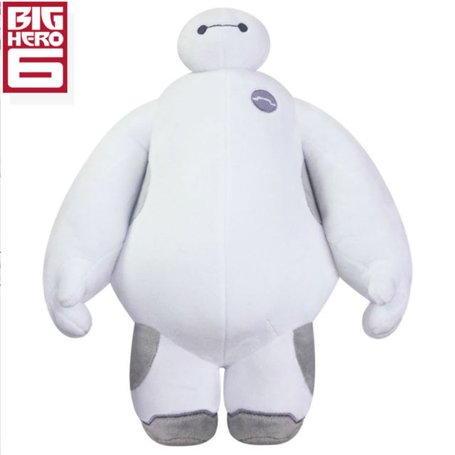 Nuevo Big Hero 6 Baymax Robot de Juguete Peluche 18 cm 7 pulgadas bolsa bighero6 al por mayor al por menor de Peluche de Felpa Regalo de Cumpleaños Envío gratis