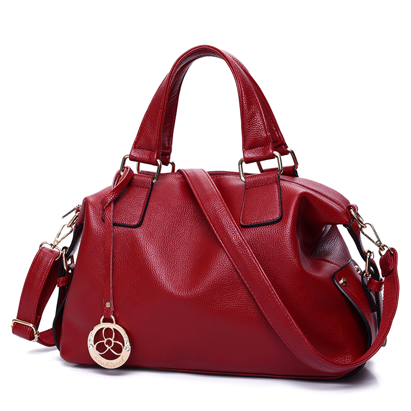 ФОТО Cowhide Genuine Leather Handbags High Quality Women's shoulder/crossbody Messenger Shopping Bags Bolsas Feminina M35