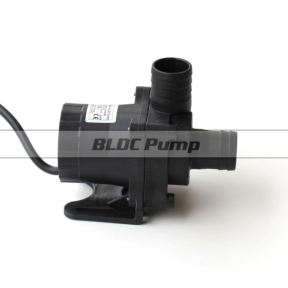 12v Hot Water Pump 3000LPH 3 5M Large Flow 5 24V Wide Voltage Operation Solar Powered Pond Pumps Submersible Speed Adjustable in Pumps from Home Improvement
