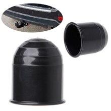 Universal Anhänger Zubehör 50MM Auto Tow Bar Ball Abdeckung Kappe Hitch Caravan Trailer Towball Schützen