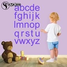 A-Z English Alphabet Letters Vinyl Wall Decal Sticker Kids Baby Bedroom Nursery Study Room 54x60cm