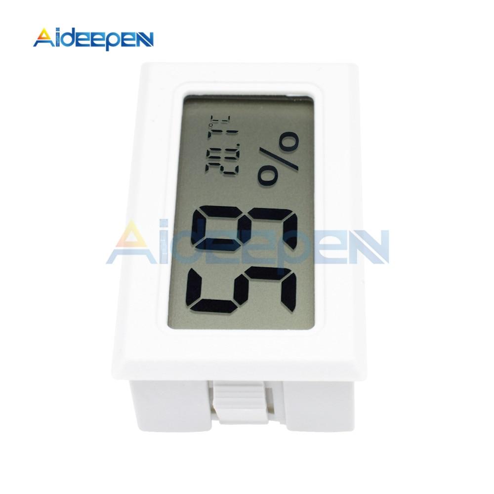 LCD Digital Thermometer Hygrometer for Freezer Refrigerator Fridge Temperature Sensor Humidity Meter Gauge Instruments Cable 25