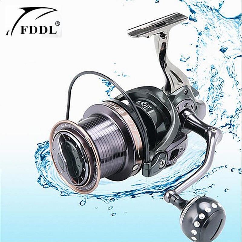 FDDL Brand 12000-9000 full metal spool Jigging trolling long shot casting for carp and salt water surf spinning fishing reel af8000 full metal spool jigging trolling long shot casting for carp and salt water surf spinning big sea fishing reel