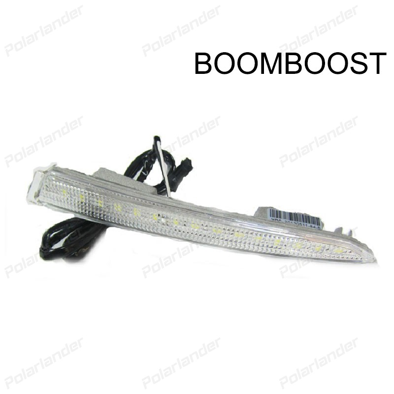 BOOMBOOST 2 pcs auto lamps Daytiime running lights Car styling for F/ord k/uga Or E/scape 2013-2015 boomboost 2 pcs auto lamps daytiime running lights car styling for f ord k uga or e scape 2013 2015