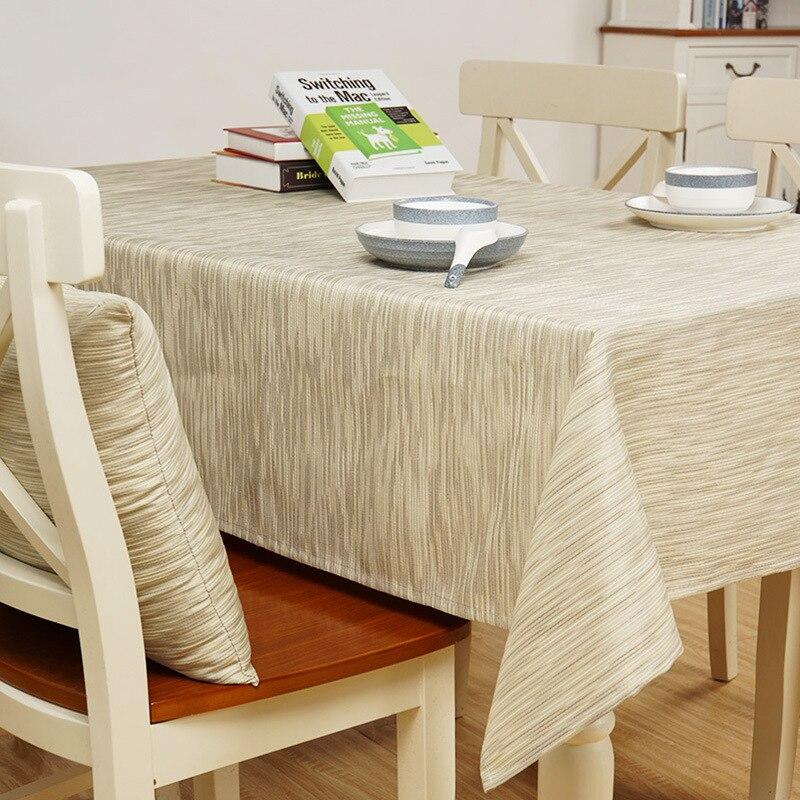 Sunnyrain Color Solido Impermeable Tela Poliester Mantel Para Mesa - Tela-para-manteles-de-mesa